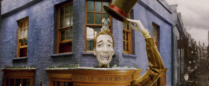 La boutique de farces et attrape des Weasley