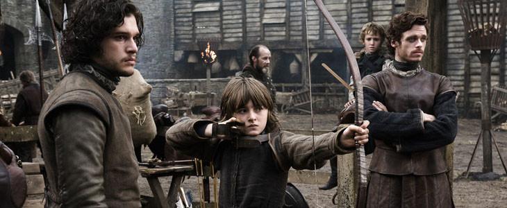 Jon Snow, Bran Stark et Robb Stark
