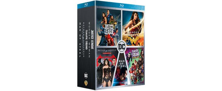 Coffrets 5 films DC