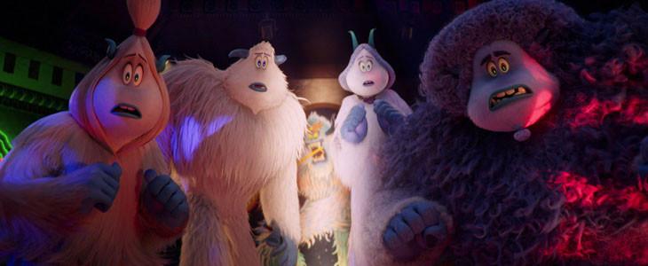 Migo et ses amis dans Yéti & Compagnie