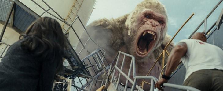 Le gorille George version géante