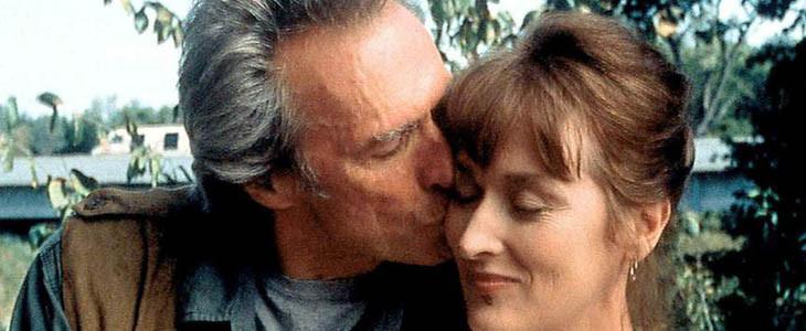 Clint Eastwood et Meryl Streep dans Sur la Route de Madison