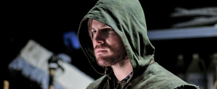 Oliver Queen alias Stephen Amell dans Arrow