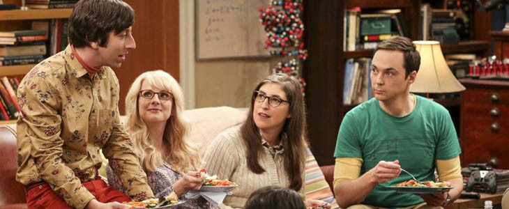Howard, Bernadette, Amy et Sheldon dans TBBT
