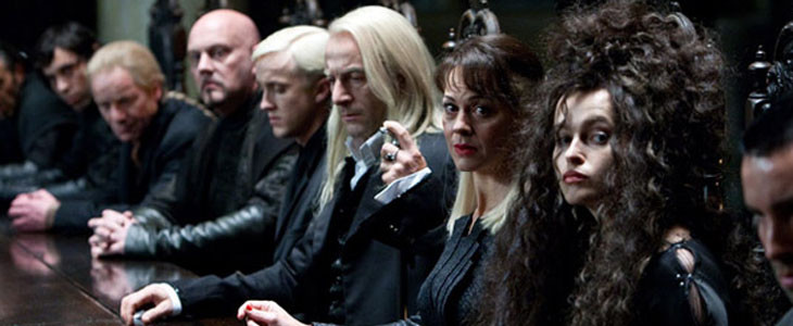 La famille Malefoy et Bellatrix Lestrange dans la saga Harry Potter