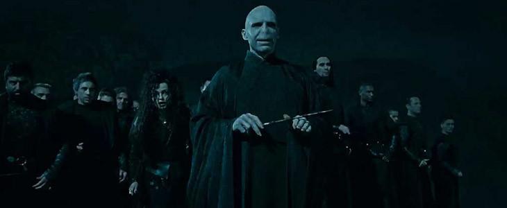 Voldemort et sa baguette
