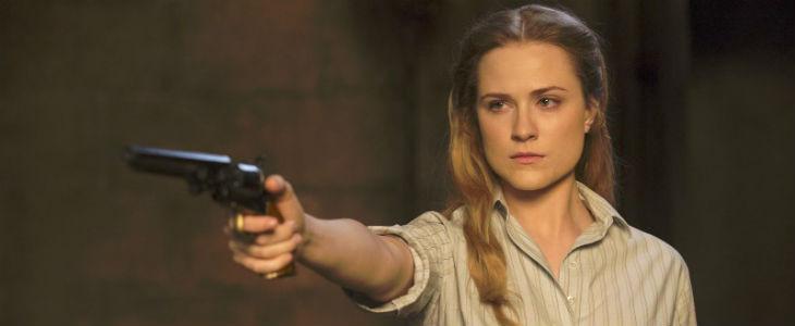 Evan Rachel Wood dans Westworld