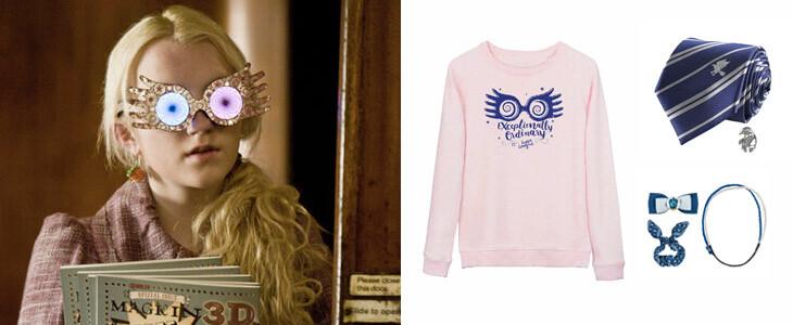 Optez pour un déguisement original avec Luna Lovegood pour Halloween !