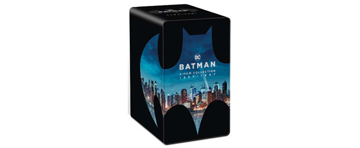 Batman 80 : le coffret 4 films Blu-ray 4K Ultra HD