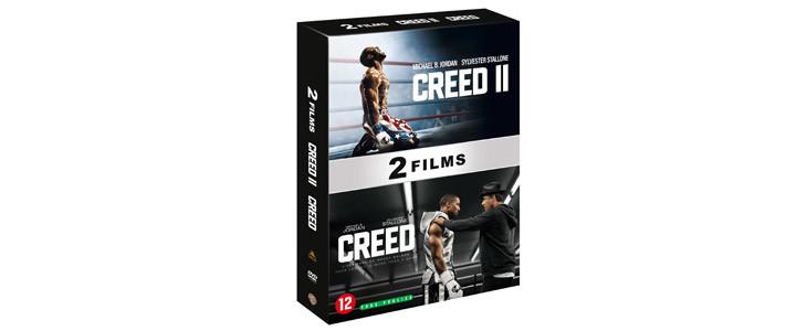 Le coffret Creed - 2 films