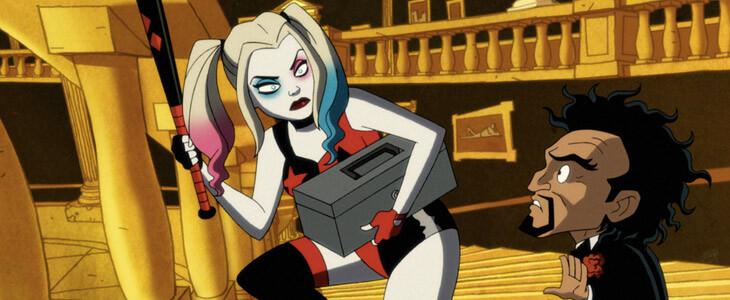 Harley Quinn dans la première saison de Harley Quinn, la série animée