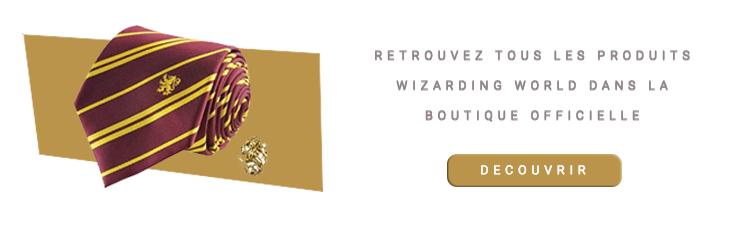 Cravate Gryffondor Deluxe avec pin's