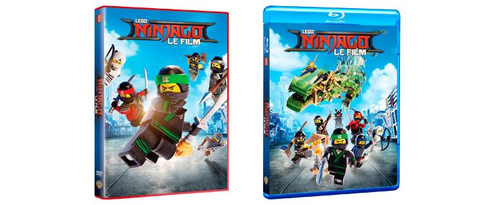 Lego Ninjago en DVD et Blu-ray
