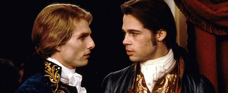Entretien avec un vampire - Tom Cruise et Brad Pitt