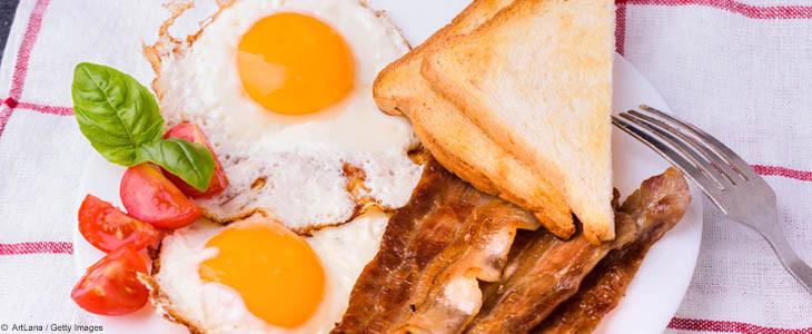 bacon and eggs avec Sherlock Holmes