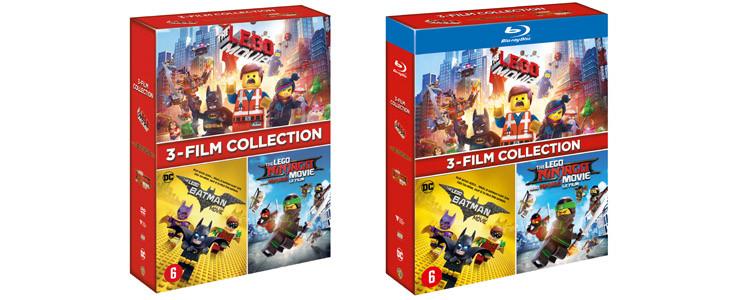 Coffret Noel - Lego 3 films