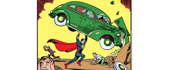 La couverture du Action Comics #1