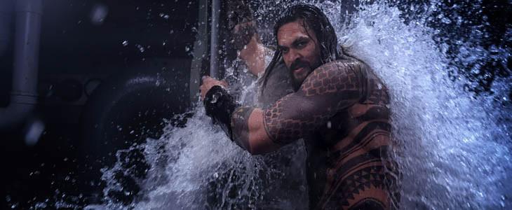 Jason Momoa dans Aquaman