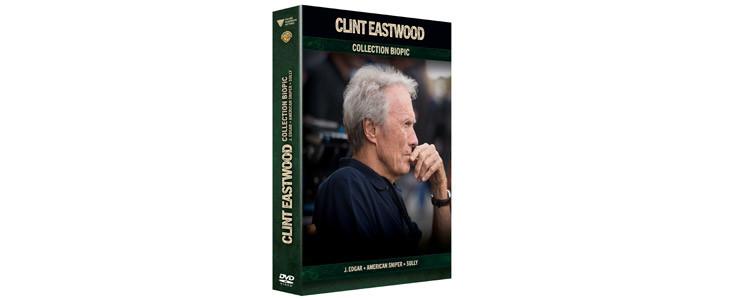 Coffret Noël 2019 : 3 films Eastwood.