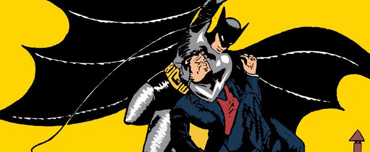 Dans les premières années, la cape de Batman ressemblait encore plus à des ailes de chauve-souris