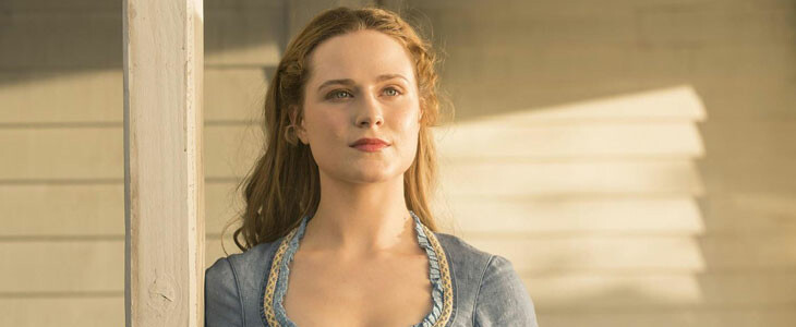 Evan Rachel Wood, dans Westworld.