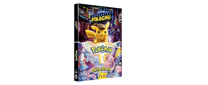 Deux aventures avec Pikachu réunies dans un seul et même coffret !
