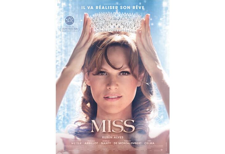 L'affiche officielle de Miss avec Alexandre Wetter