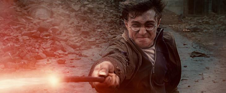Daniel Radcliffe dans Harry Potter et les Reliques de la Mort