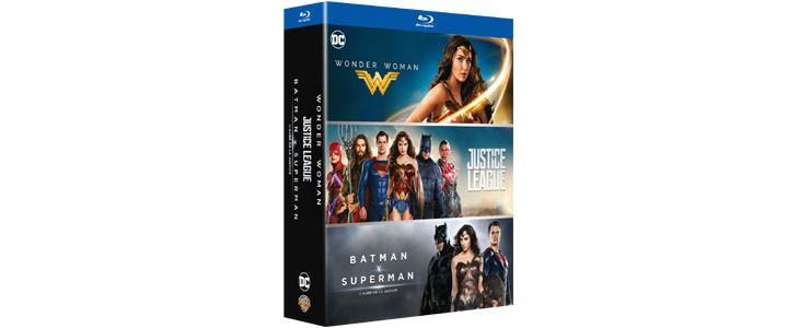 Coffret 3 films DC