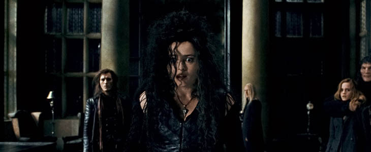 Helena Bonham-Carter dans Harry Potter