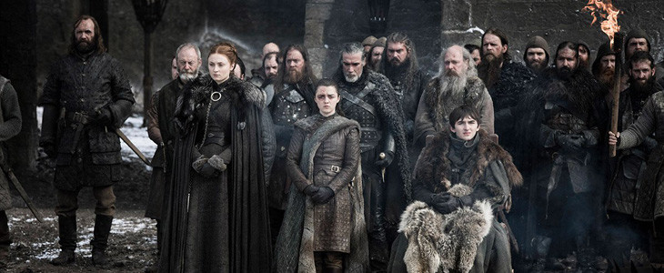 Le clan Stark après la Bataille de Winterfell - Game of Thrones saison 8