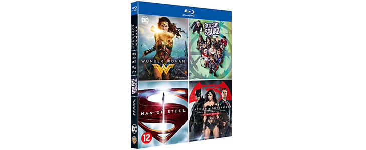 Coffret 4 films DC