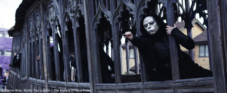 Les Mangemorts rejouent la bataille de Poudlard au Studio Tour Harry Potter