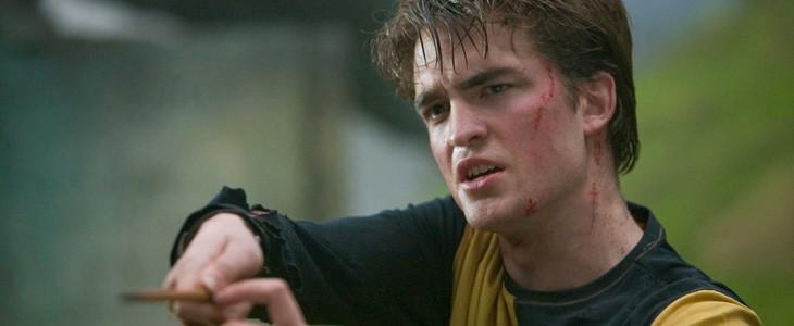 Robert Pattinson joue Cedric Diggory dans Harry Potter et la Coupe de Feu