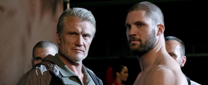 Dolph Lundgren et Florian Munteanu dans Creed II