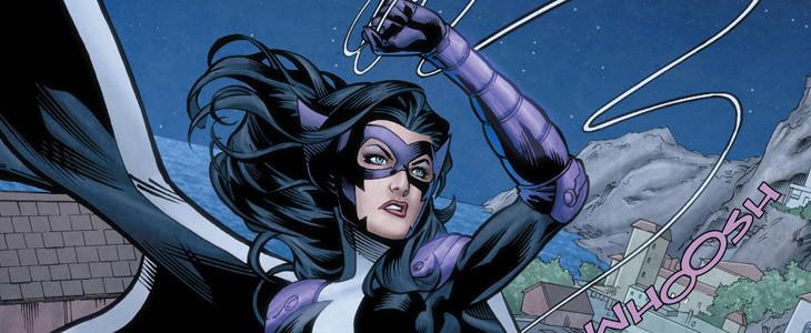 Huntress dans les comics