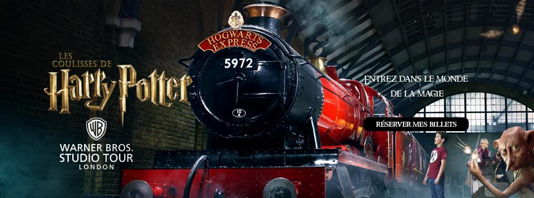 Découvrez le Harry Potter Studio Tour