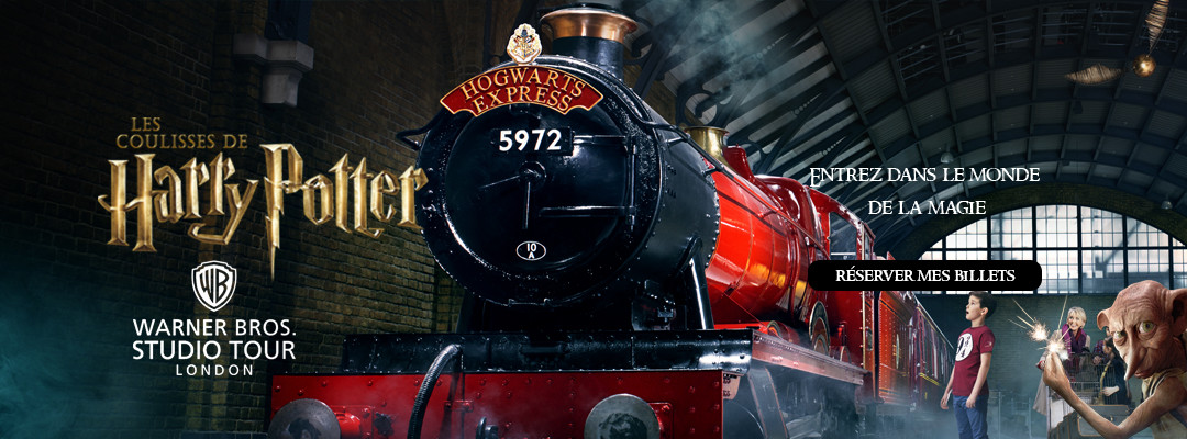Visiter les studios de Harry Potter
