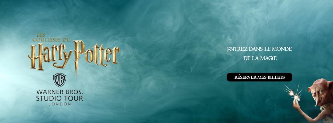 Visitez le Studio Tour Harry Potter à Londres !