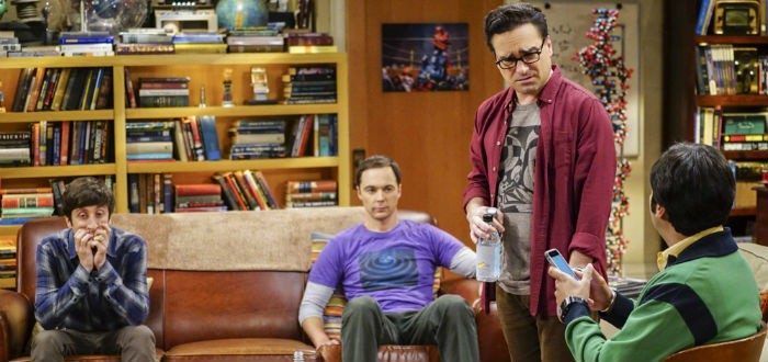 Howard, Sheldon, Leonard et Raj dans The Big Bang Theory