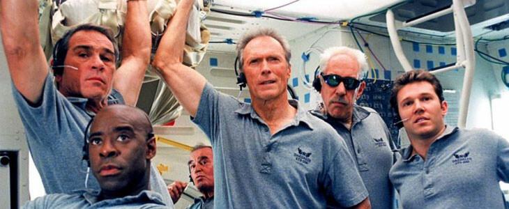 L'équipe de haut vol de Space Cowboys.