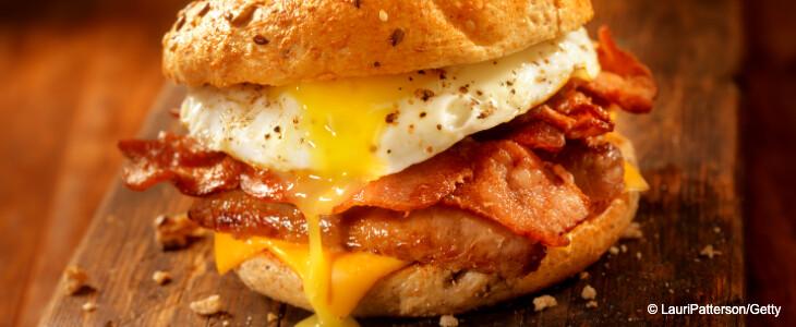 Egg sandwich Harley Quinn Birds of prey.