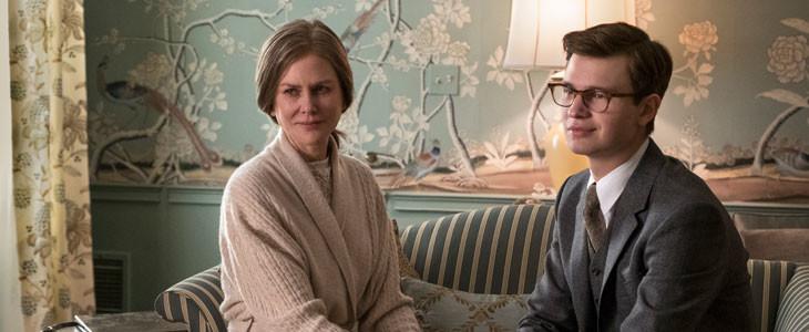 Nicole Kidman et Ansel Elgort, dans Le Chardonneret.
