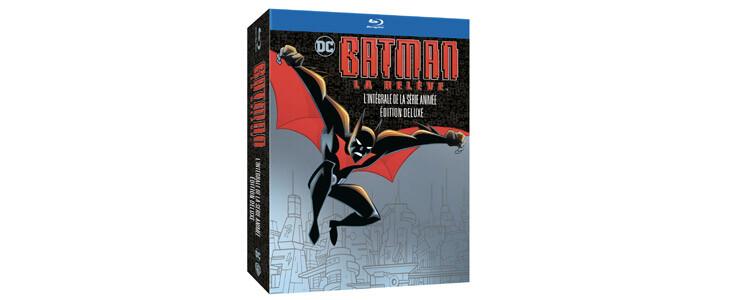 Découvrez la série d'animation Batman, la relève en Blu-Ray.
