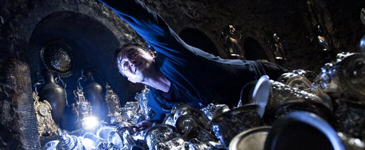 Harry Potter dans la chambre forte de Bellatrix Lestrange