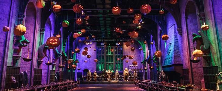 Halloween au Warner Bros. Studio Tour London