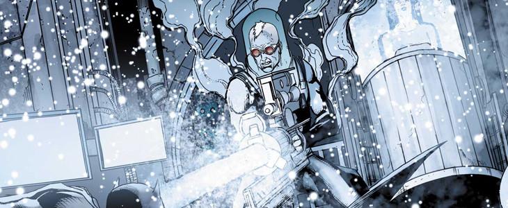 Mister Freeze dans la neige