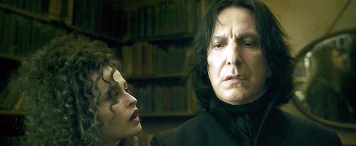 Le professeur Rogue dans Harry Potter
