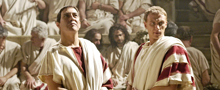 Ciaran Hinds et Kevin McKidd dans Rome
