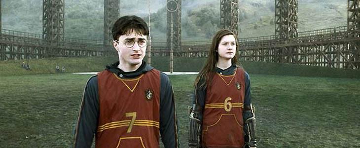 Harry et Ginny - Quidditch